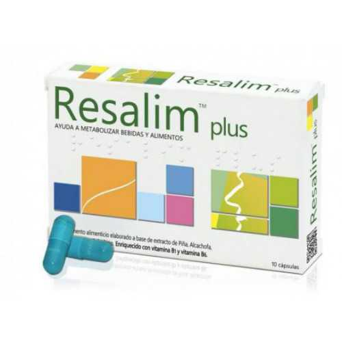 Resalim Plus 10 Comprimidos...