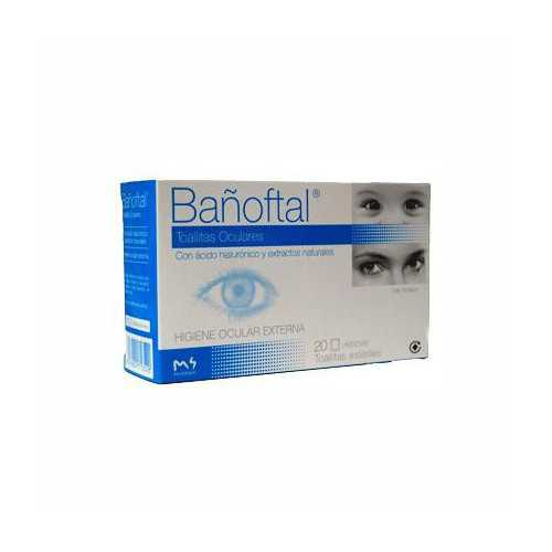 Bañoftal Toallitas Oculares...