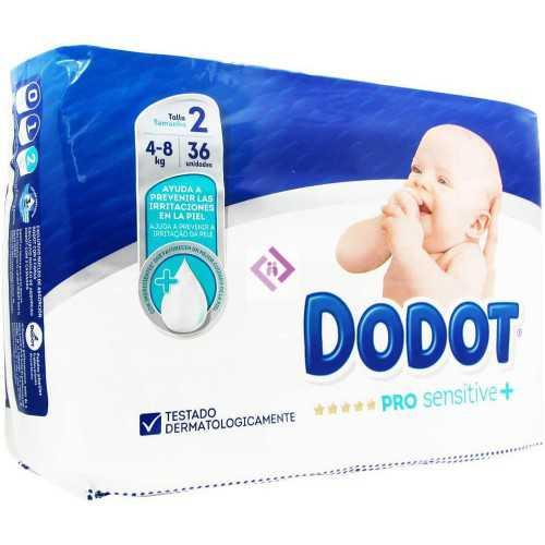 Dodot Pro Sensitive Talla 2...