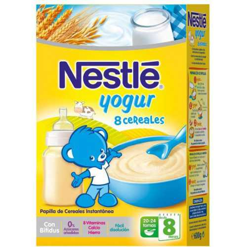 Nestle 8 Cereales Con Yogur
