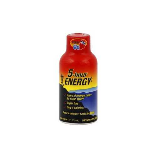 5 Hour Energy Bayas 58 ml