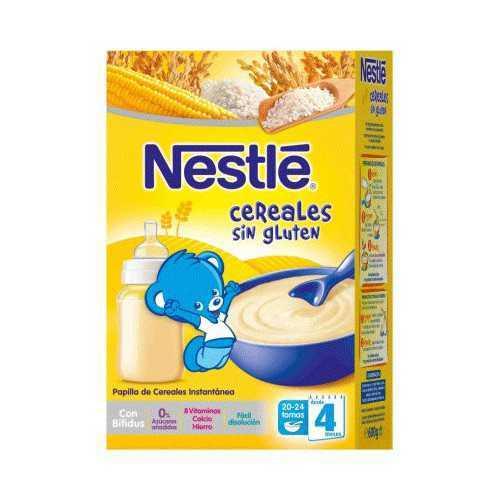 Nestlé Cereales Sin Gluten...