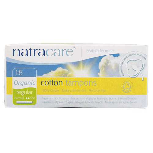Natracare Tampon Regular 16...